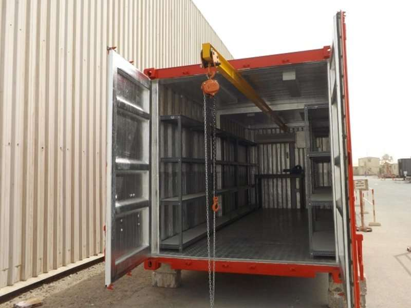 Prefab Storage Containers