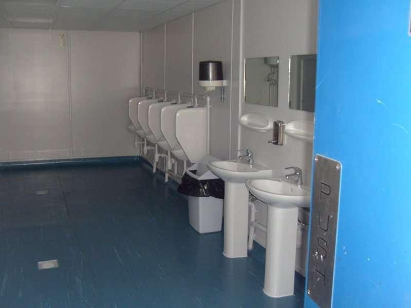 prefab public Bathroom Prefab's Plans - Prefabricated Toilet Cabins