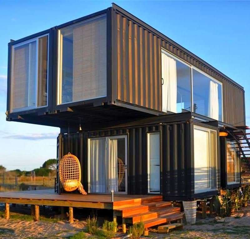 Containerized Accommodation Prefab Container Homes