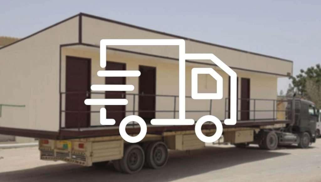 Prefab Transport Service in the UAE & Mena Region Prefab Services