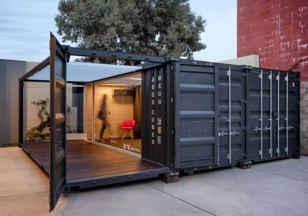 Containerized Restaurants