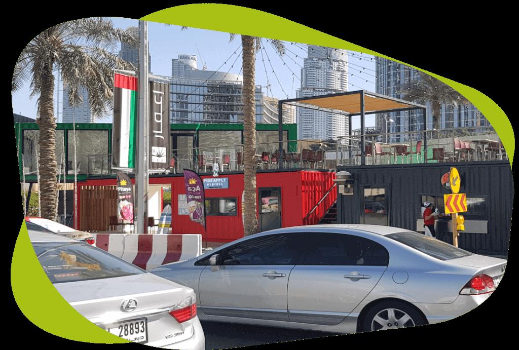 Prefab Houses in the UAE - Al Bait Al Raqi Prefabricated Houses containers in UAE